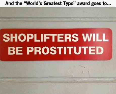 And the 'World's Gtreatest Typo' award goes to...