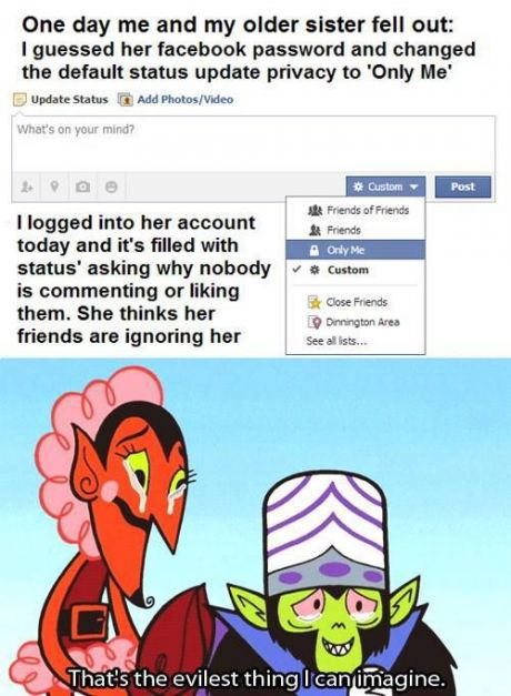 Another great idea to troll your friends if you find their Facebook logged in