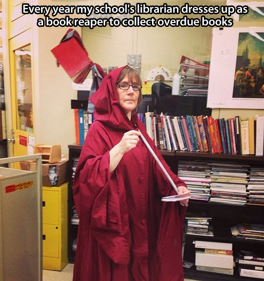 Best librarian ever…
