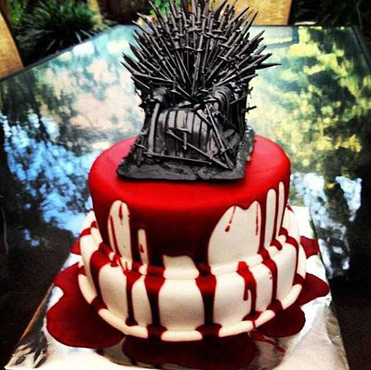 Cake of Thrones.