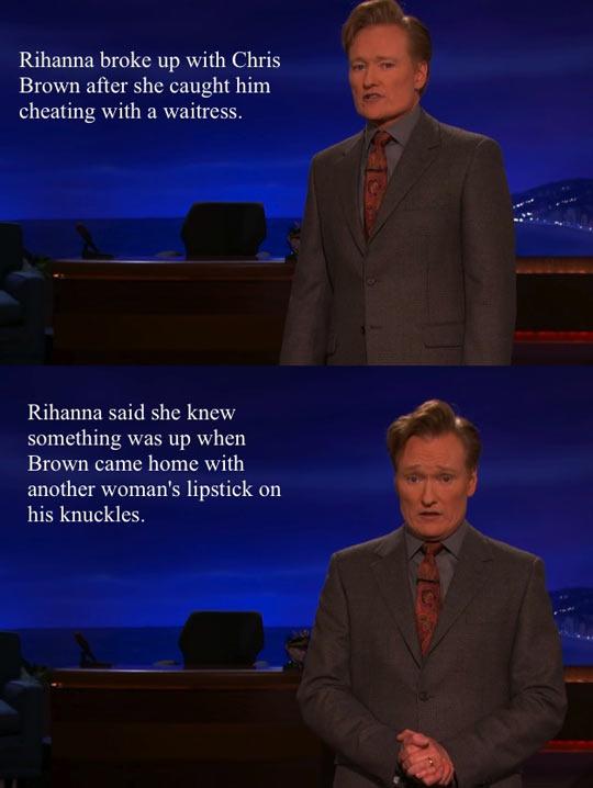 Conan strikes again...
