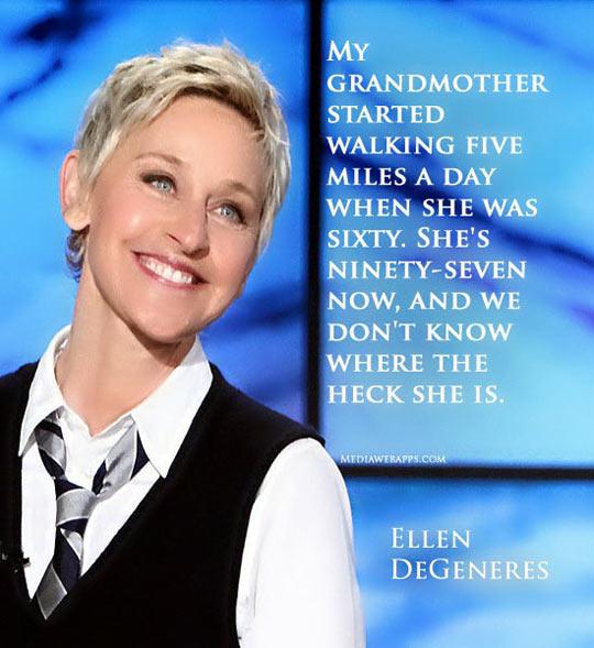 Ellen DeGenere's Grandma