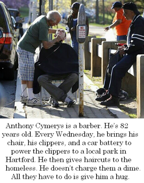 Faith in humanity... Restored.