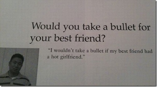 Funniest Yearbook Quotes of All Time — 3