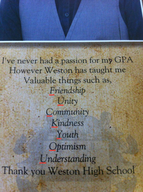 Funniest Yearbook Quotes of All Time — 38
