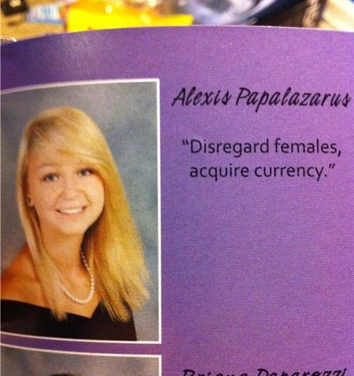 Funniest Yearbook Quotes of All Time — 8