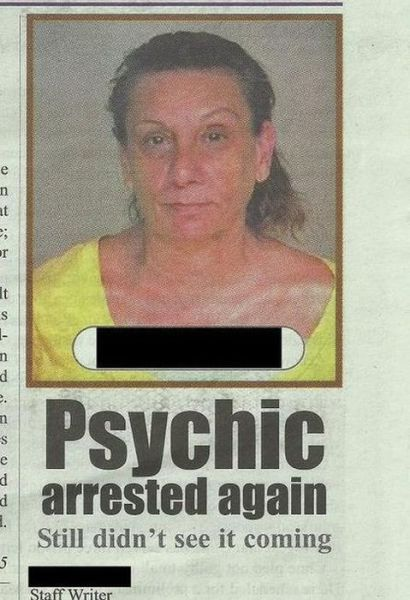Funny and Weird Stuff Written in Newspapers 1