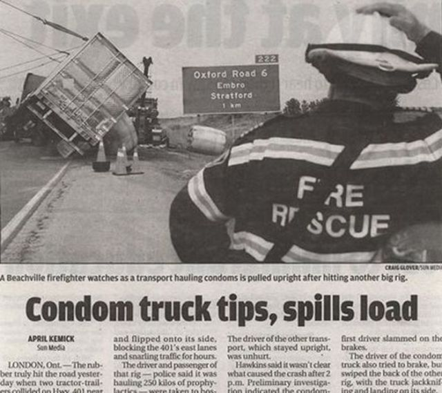 Funny and Weird Stuff Written in Newspapers 3