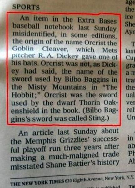 Funny and Weird Stuff Written in Newspapers 31