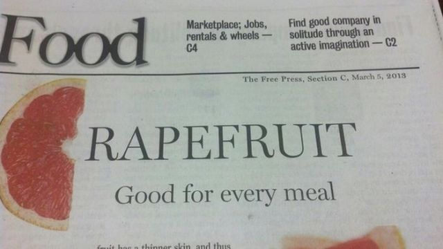 Collection of funny and weird stuff written in newspapers 30 pics