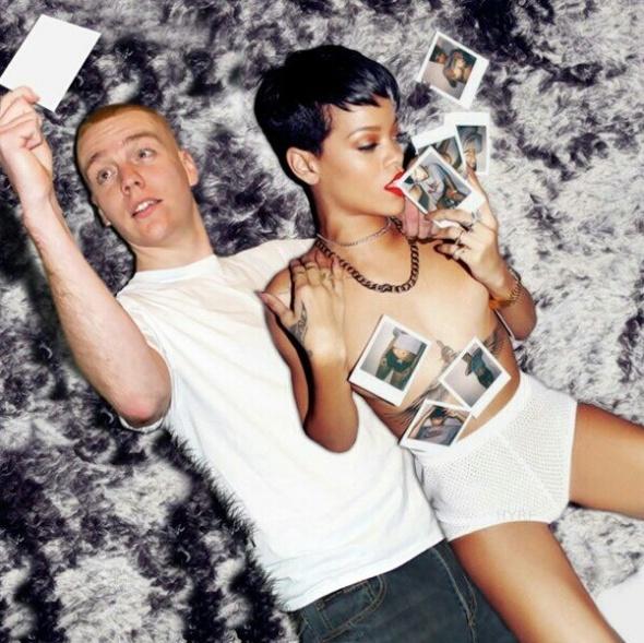 Guy Hilariously Photoshops Himself into Celebrity Photos — 16