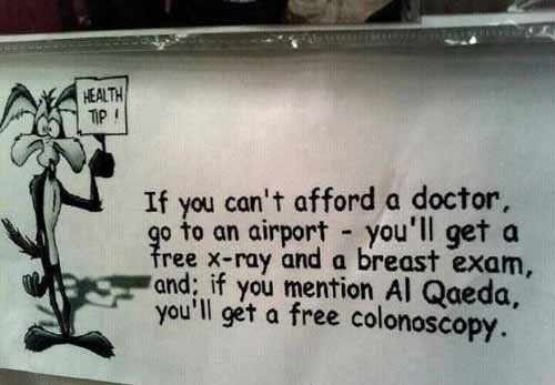 Health Tip if you can't afford a doctor...