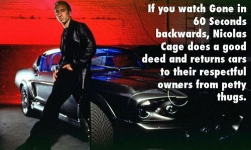 If you watch these movies backwards… 21