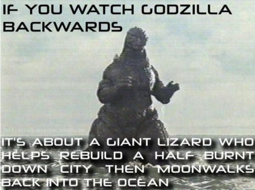If you watch these movies backwards… 23