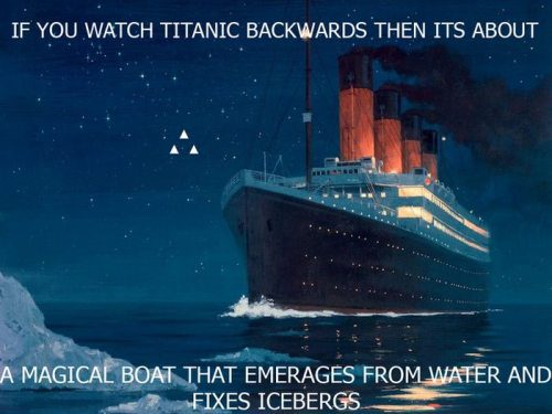 If you watch these movies backwards… 5