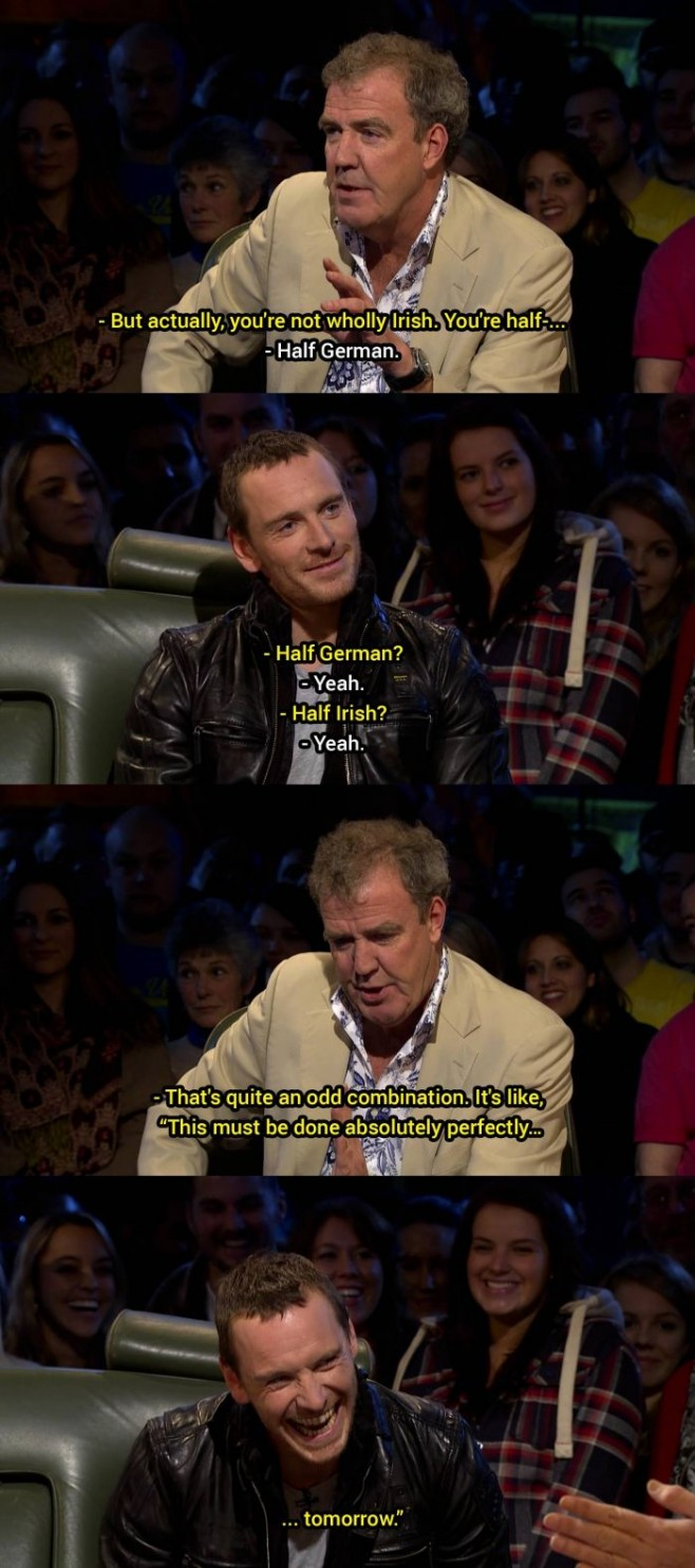 Jeremy Clarkson and stereotypes