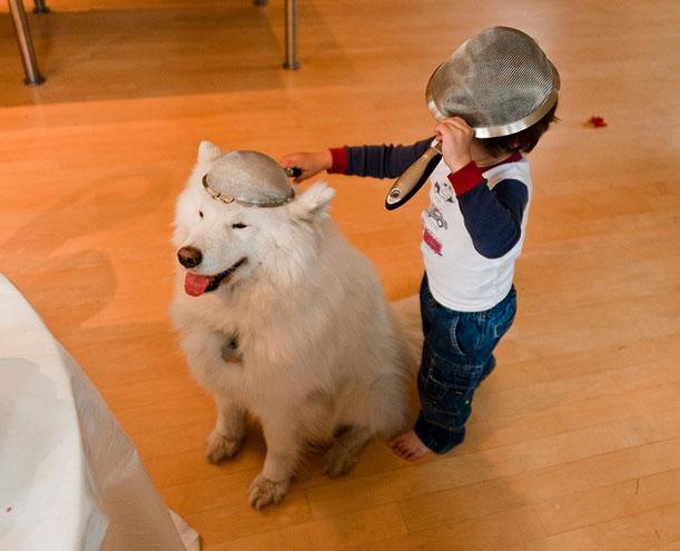 Kids and Animals 14