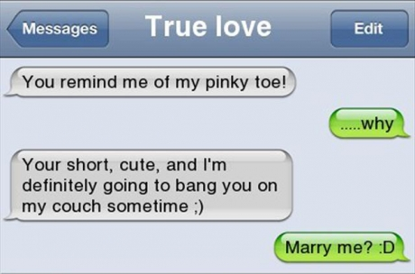 Now that's what love is about.