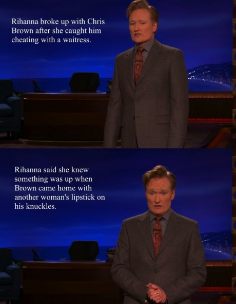 Oh Conan You're So Funny...
