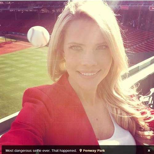 People Having a Bad Day — Baseball Selfie