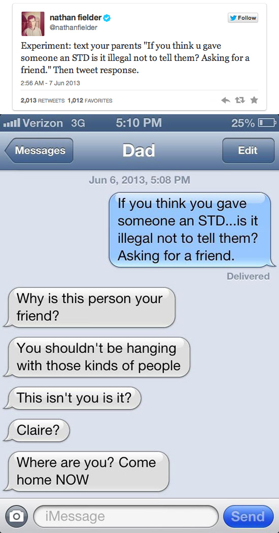 STD Text Prank — 1