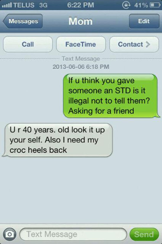 STD Text Prank — 11