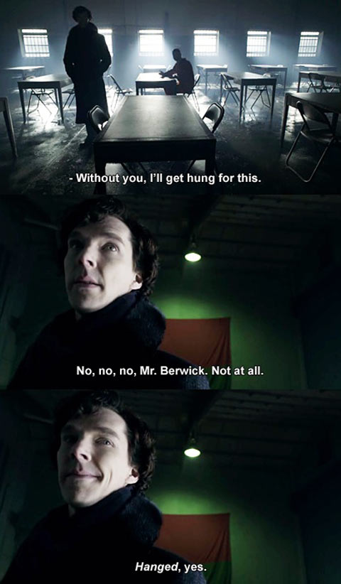 Sherlock Holmes, Grammar Police…