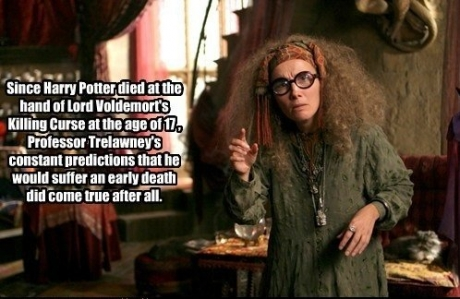 The truth about Harry Potter's death..