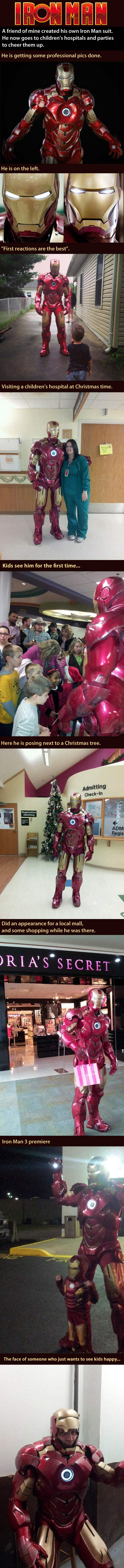This guy is a real life super hero..