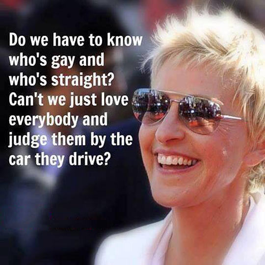 This is why Ellen DeGeneres so awesome!