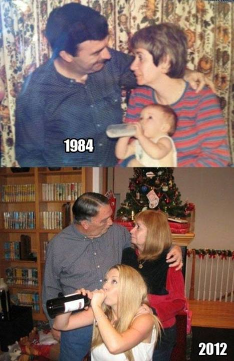 Photo recreation done right…