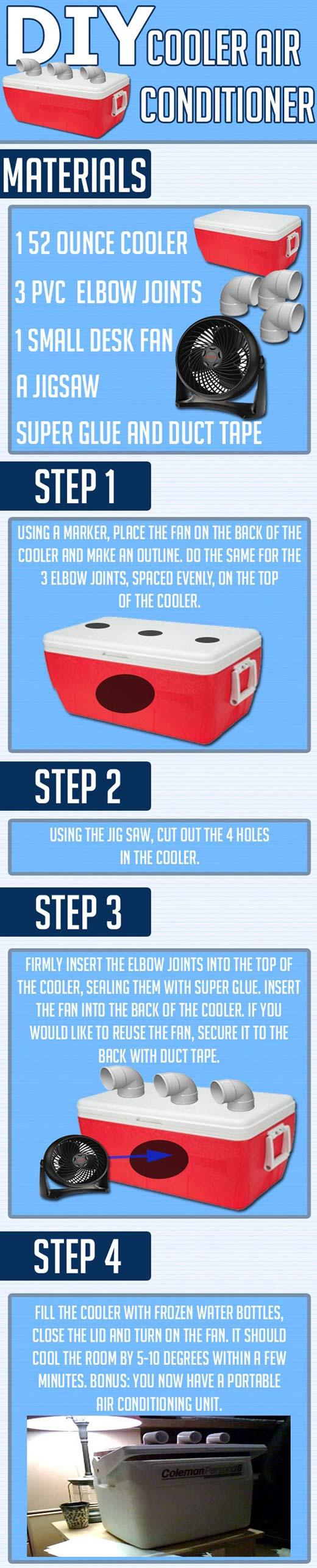 cool-DIY-cooler-air-conditioner