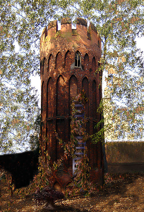 Rapunzel's Tower, Wales…