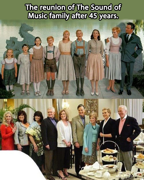 The Sound of Music cast reunited…