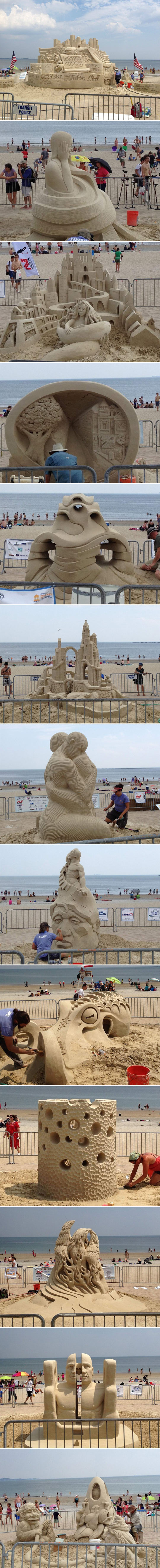 cool-beach-sand-sculptures-Revere