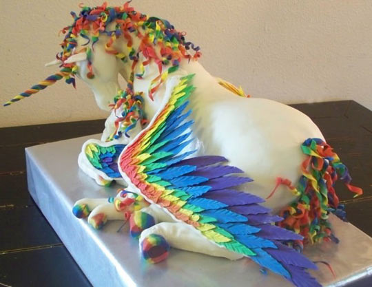 The most magical cake ever made…