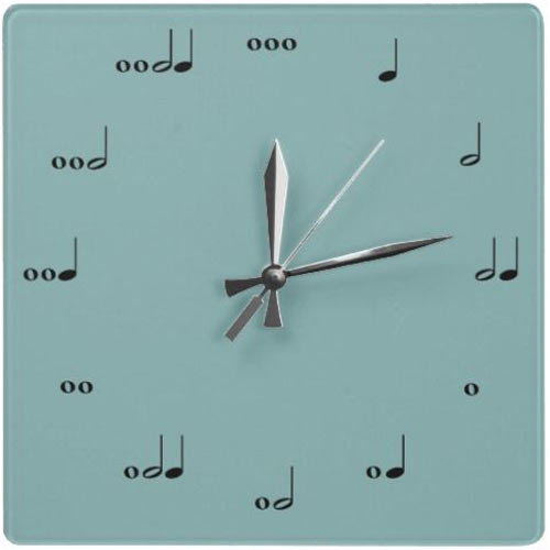 Telling time with music…