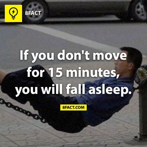 A way to fall asleep for sure…