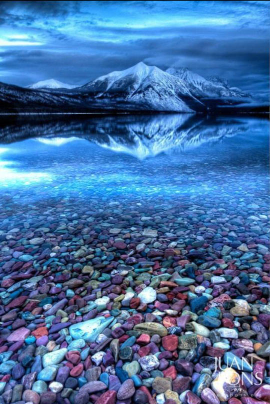 Beautiful Glacier National Park…