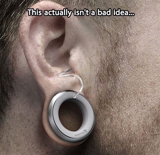 Not a bad idea at all…