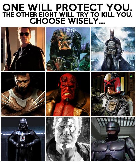 Make a wise choice…