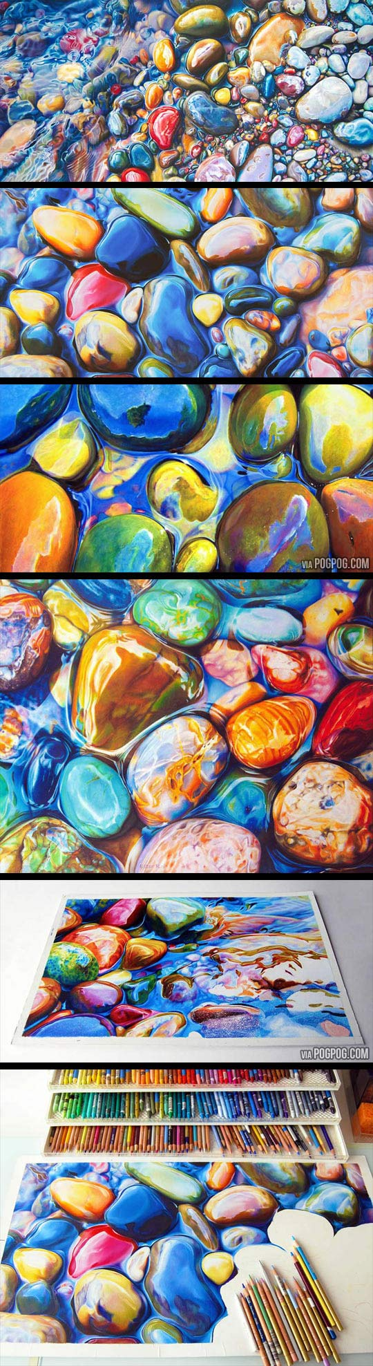 cool-picture-painting-rocks-river