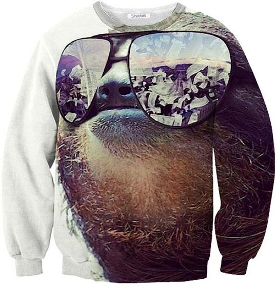Nothing can go wrong when you're wearing this sweater…
