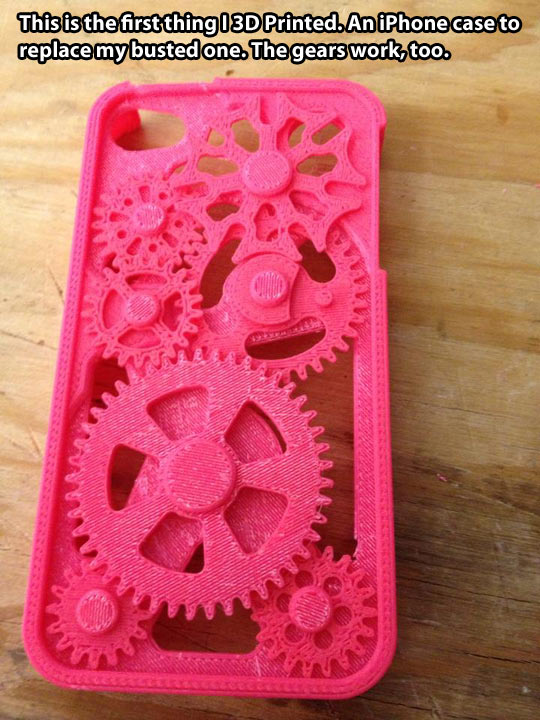 One of the many incredible things you can create with a 3D printer…