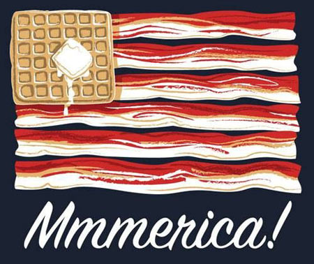 funny-America-flag-cookie-sweet