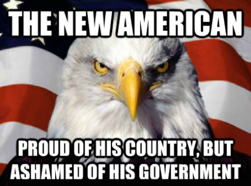 The new American…