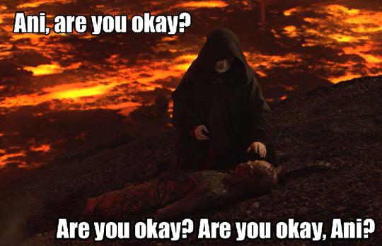 Hey Ani, are you OK?
