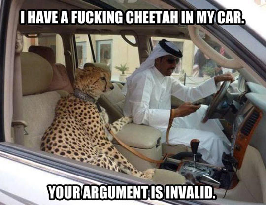 No arguments whatsoever…