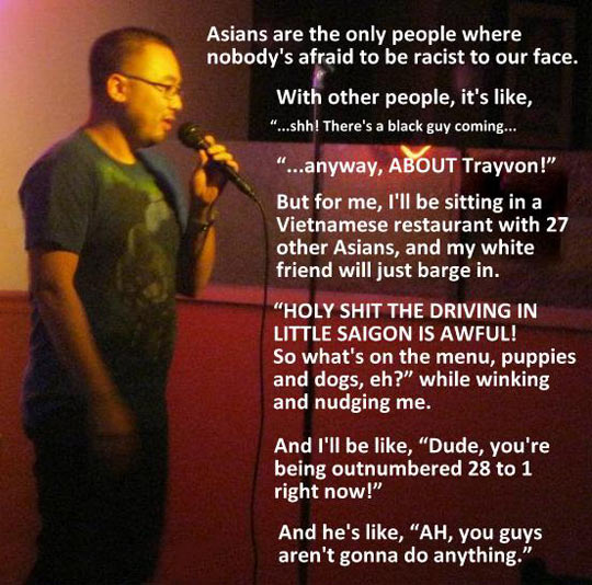 Poor Asians…