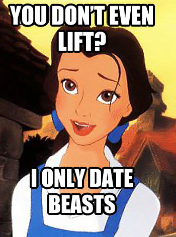 Beauty and the Beast love…
